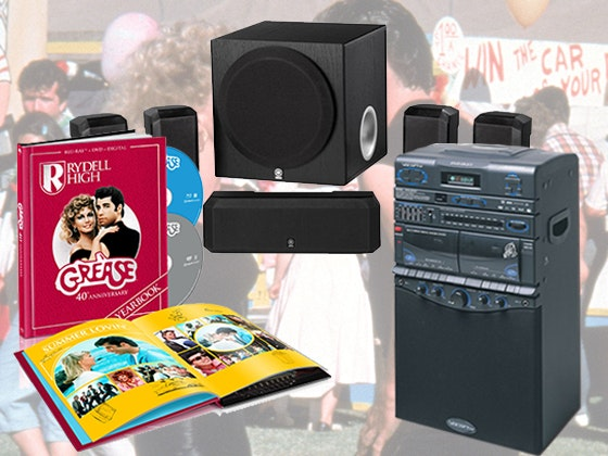 Grease Blu-ray Combo Pack with Speakers and Karaoke Machine sweepstakes