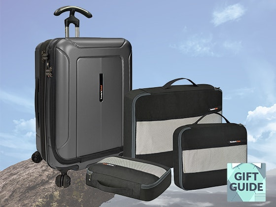 Father's Day Gift Guide: Traveler's Choice Luggage Set sweepstakes