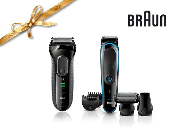 Braun Geschenk-Paket gewinnen Gewinnspiel