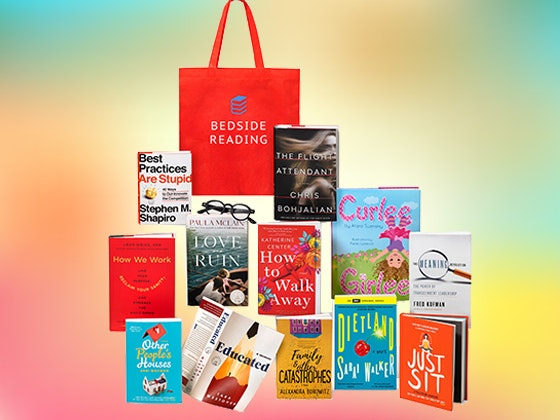 April Bedside Reading Summer Hot Reading List Gift Bag sweepstakes