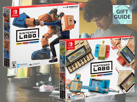 Father's Day Gift Guide: Nintendo Switch + Nintendo Labo Kits sweepstakes