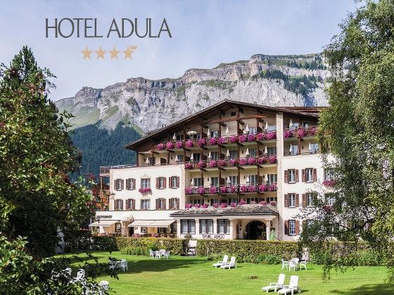 Auszeit im ****S Hotel Adula Gewinnspiel