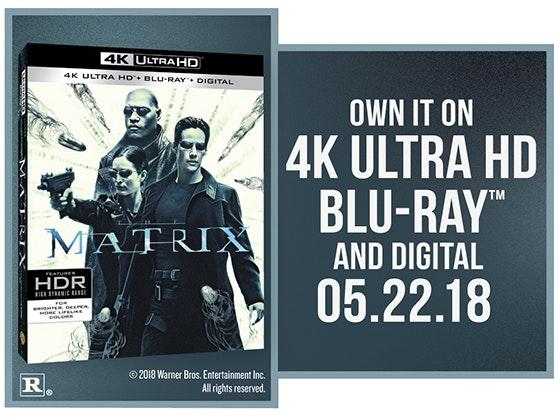 """The Matrix"" on 4K UHD Blu-ray™ sweepstakes"