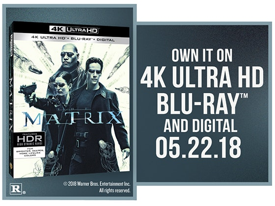 """The Matrix"" on 4K UHD Blu-ray™ sweepstakes"
