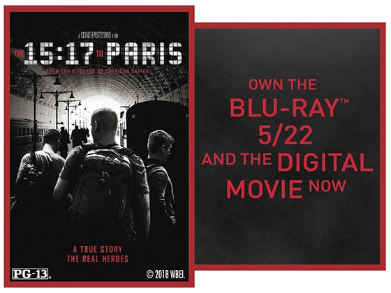 """The 15:17 to Paris"" on Digital sweepstakes"