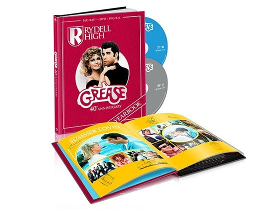 Karaoke Machine and GREASE 40th Anniversary Edition on Blu-ray Combo Pack sweepstakes