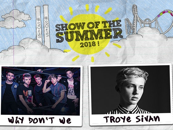 Show of the Summer 2018 Tickets sweepstakes