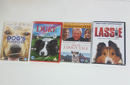 dog dvd bundle sweepstakes