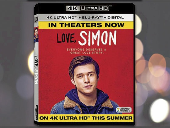 """Love, Simon"" on Blu-ray sweepstakes"