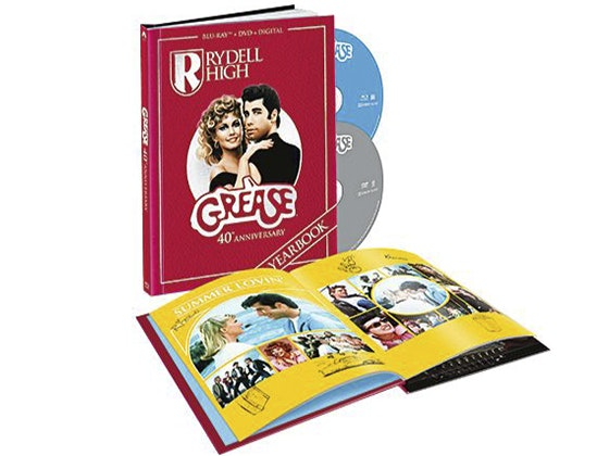 """Grease"" 40th Anniversary Combo Pack sweepstakes"