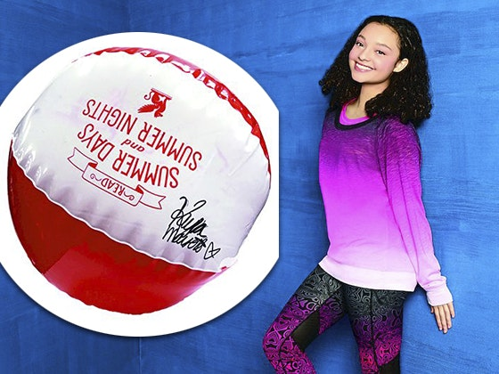 Kayla Maisonet's Signed Beach Ball sweepstakes