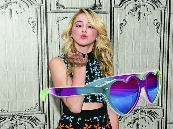 Chloe lukasiak signed sunglasses j14 giveaway