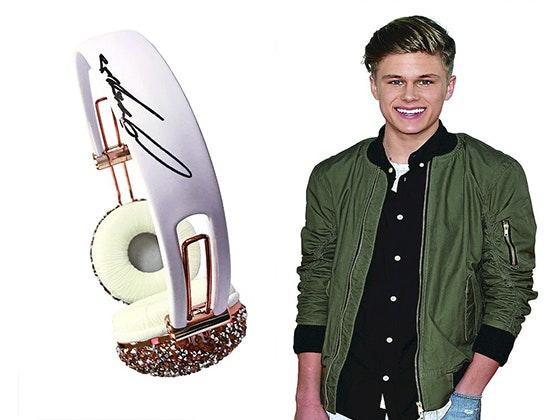 Owen Joyner's Signed Headphones sweepstakes