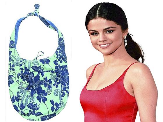 Selena gomez signed beach bag j14 giveaway