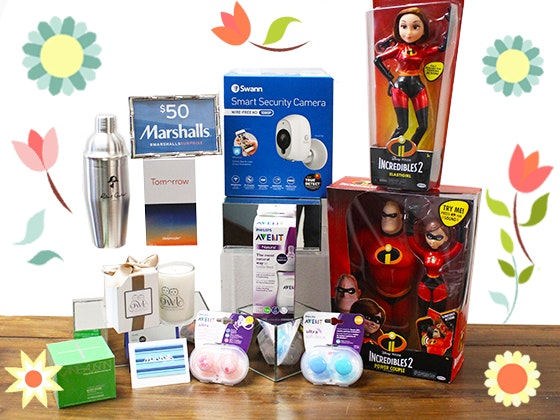Mother's Day Swag Bag Backstage Creations sweepstakes