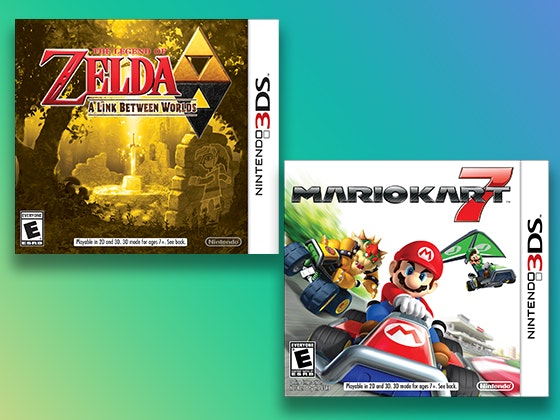 Nintendo 2DS XL System + Games sweepstakes