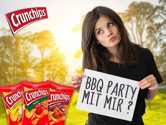 Crunchips BBQ-Party mit Joyce Ilg Gewinnspiel