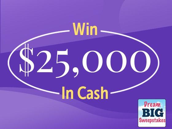Online cash giveaways