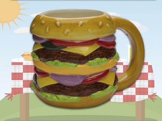 Cheeseburger Mug from Streamline sweepstakes