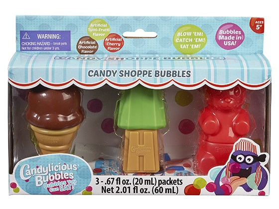 Candylicious Bubbles from Candy Shoppe Bubbles sweepstakes