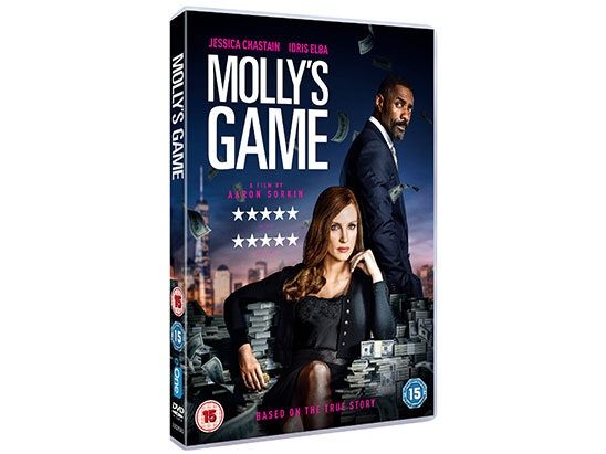 Mollys Game sweepstakes