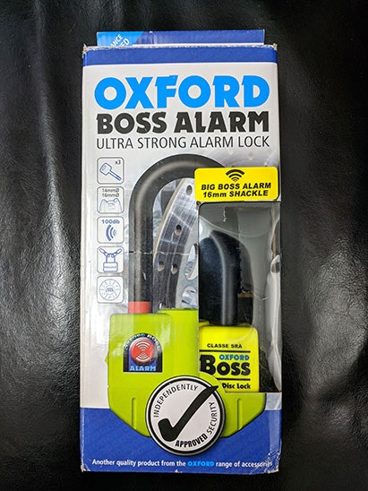 Oxfor Boss Alarm sweepstakes