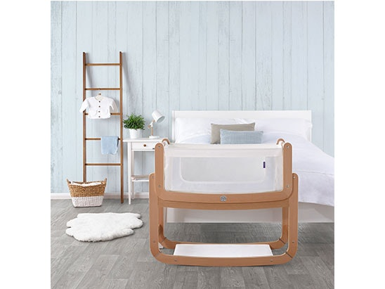 SNÜZPOD2 BEDSIDE CRIB IN NATURAL  sweepstakes
