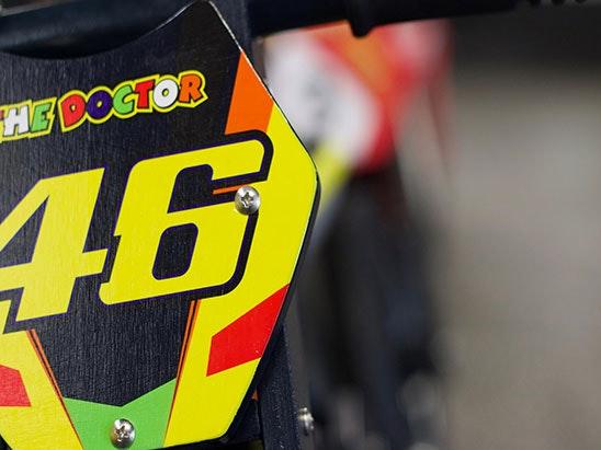 Rossi Heroes balance bike sweepstakes