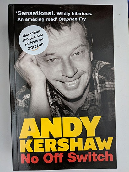 Andy Kershaw book sweepstakes