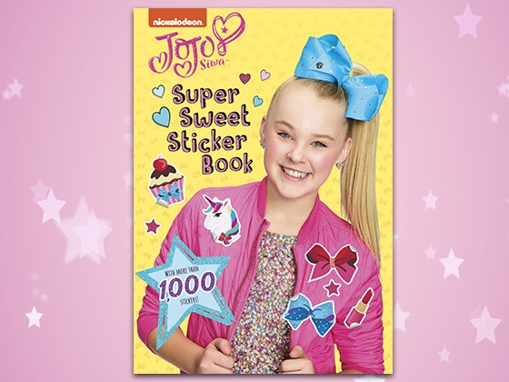JoJo Siwa's Super Sweet Sticker Book sweepstakes