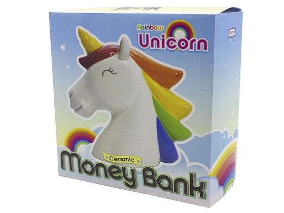 Rainbow Unicorn Money Bank sweepstakes