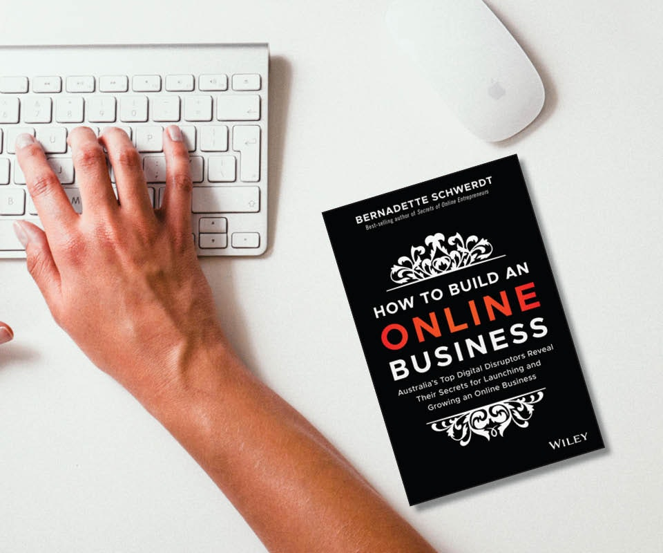How to Build an Online Business book sweepstakes