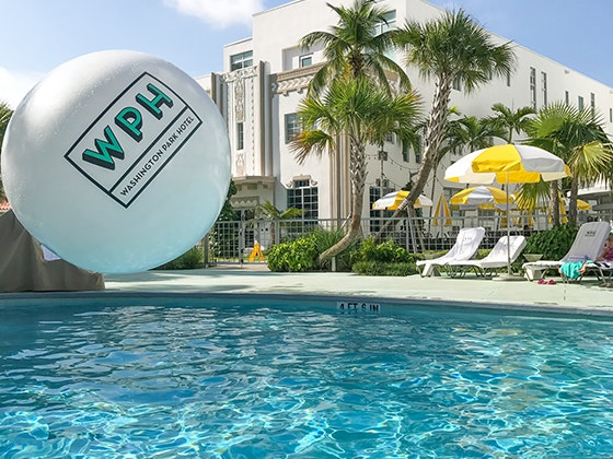 Washington Park Hotel Miami, Florida Trip sweepstakes