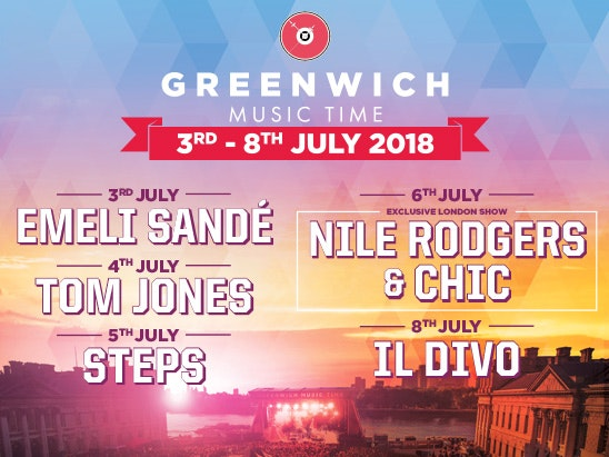 Greenwich Music Time concert sweepstakes