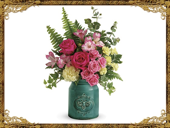 Teleflora country beauty bouquet giveaway