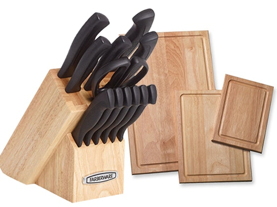 Farberware Knife Set and Cutting Boards sweepstakes