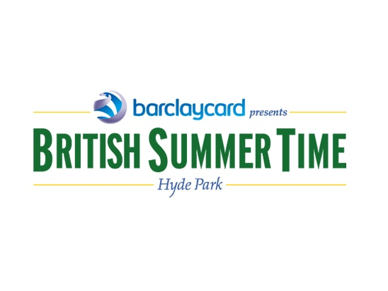 Micheal Bublè at British Summer Time Hyde Park sweepstakes