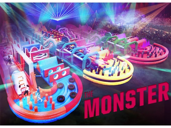 PAIR OF TICKET TO THE MONSTER.  sweepstakes