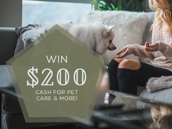 $200 Cash Prize May-June 2018 sweepstakes
