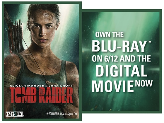 """Tomb Raider"" on Blu-ray™ Combo Pack sweepstakes"