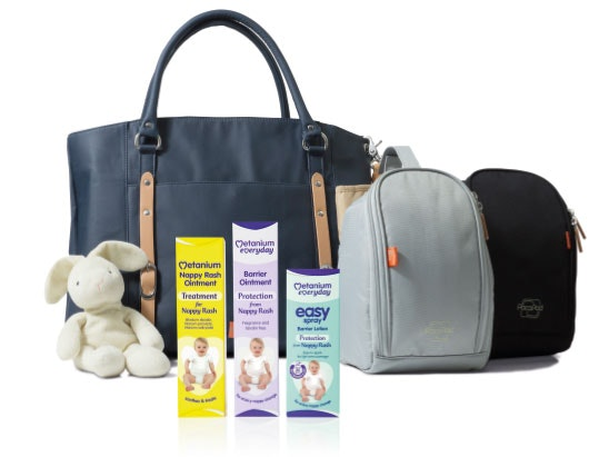 Pacapod changing bag with Metanium  sweepstakes