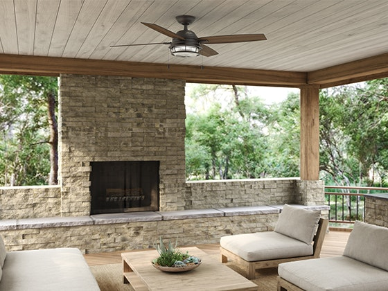 Hunter outdoor ceiling fan giveaway 1