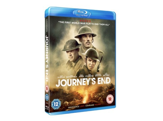 WIN A BLU-RAY PLAYER AND A COPY OF JOURNEY'S END  sweepstakes