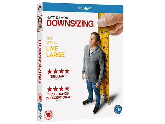 WIN DOWNSIZING ON BLU-RAY™ sweepstakes