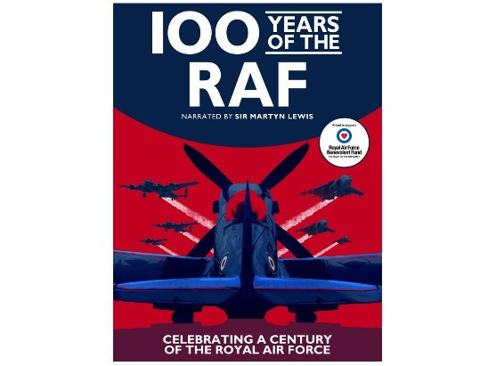 100 YEARS OF THE RAF ON DVD  sweepstakes