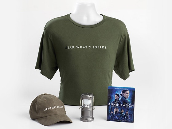 """ANNIHILATION"" Prize Package sweepstakes"