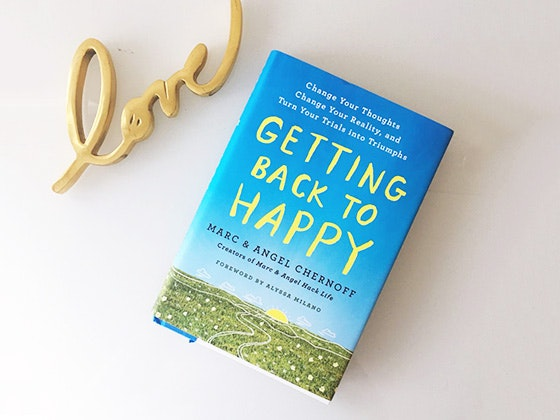 """Getting Back to Happy"" Book sweepstakes"