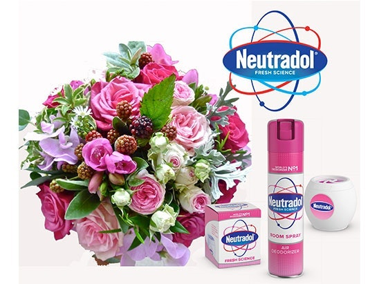 6 MONTHS OF FRESH FLOWERS, THANKS TO NEUTRADOL sweepstakes