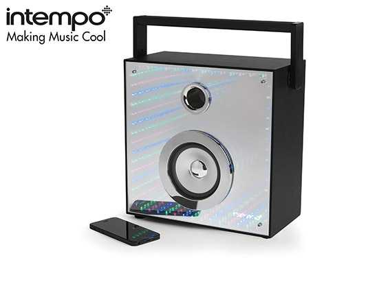 Intempo Bluetooth Portable Mirror Speaker. sweepstakes