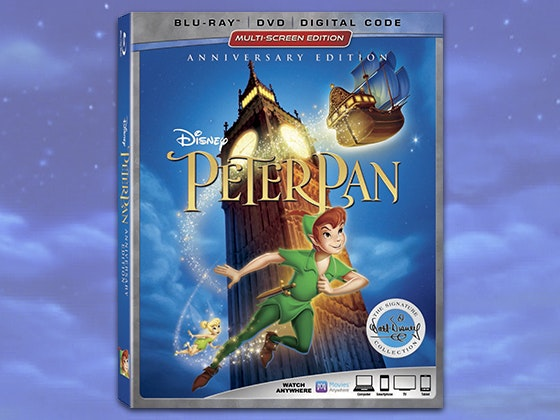 """Peter Pan"" 65th Anniversary Blu-ray sweepstakes"